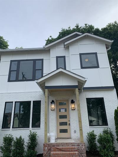 Nashville Single Family Home For Sale: 925 11th Ave N