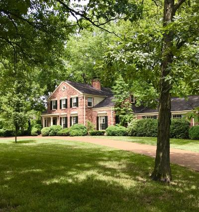 Nashville Single Family Home Active Under Contract: 712 Belle Meade Blvd