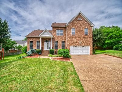 Mount Juliet Single Family Home For Sale: 3619 Canberra Way
