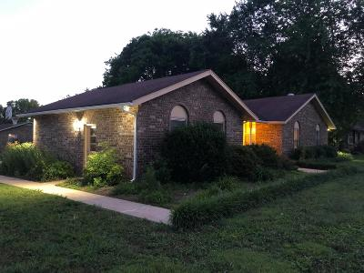 Old Hickory Single Family Home For Sale: 4820 Sierra Dr