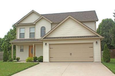 Clarksville Single Family Home Active Under Contract: 3694 Nadia Dr