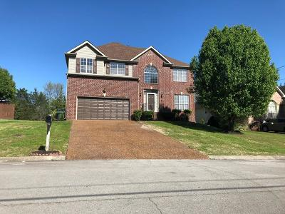 Mount Juliet Single Family Home For Sale: 1503 Cardinal Ln