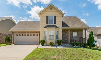 Clarksville Single Family Home For Sale: 1624 Buchanon Dr