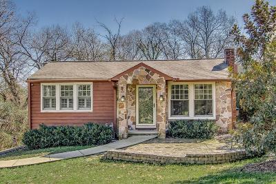 Nashville Single Family Home Active Under Contract: 3205 Marlborough Ave
