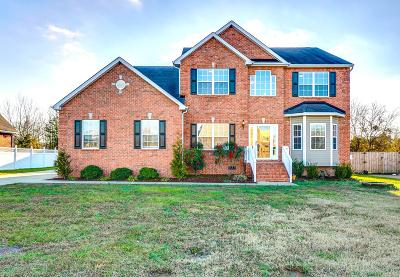 Murfreesboro Single Family Home Active Under Contract: 401 Brickle Dr