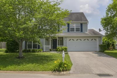 Spring Hill Single Family Home Active Under Contract: 1411 Weston Ln