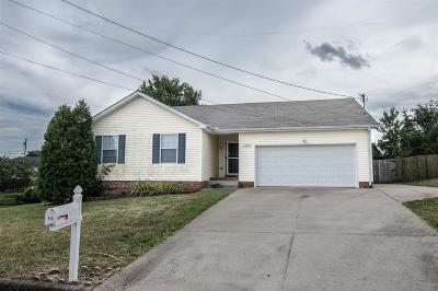 Clarksville Single Family Home For Sale: 940 Lindsey Dr