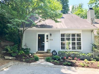 Nashville Single Family Home For Sale: 518 Stacy Square Terrace