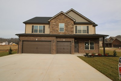 Clarksville Single Family Home Active Under Contract: 191 The Groves At Hearthstone