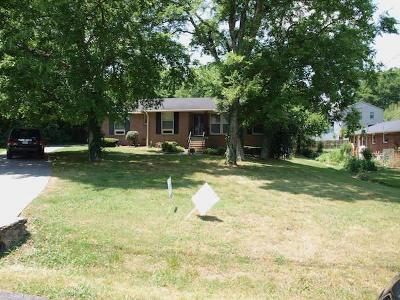Nashville Single Family Home Active Under Contract: 3415 Richards Street
