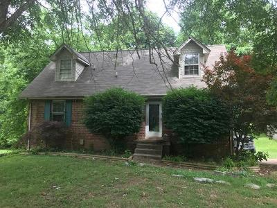 Clarksville Single Family Home For Sale: 1269 Cloverdale Dr