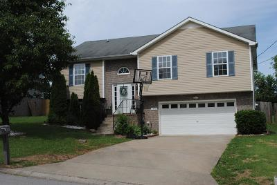 Clarksville Single Family Home For Sale: 3396 Queensbury Rd