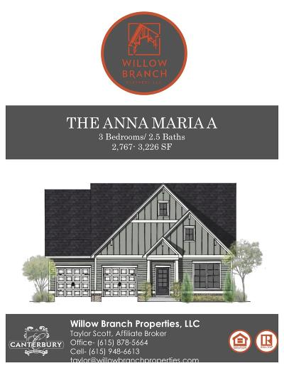 Thompsons Station  Single Family Home Active Under Contract: 2773 Cloister Ln - Lot 1152