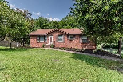 Old Hickory Single Family Home For Sale: 307 Matterhorn Dr