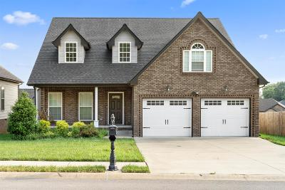 Clarksville Single Family Home For Sale: 1351 Golden Eagle Way