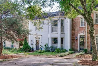 Green Hills Condo/Townhouse For Sale: 4400 Belmont Park Ter Apt 209