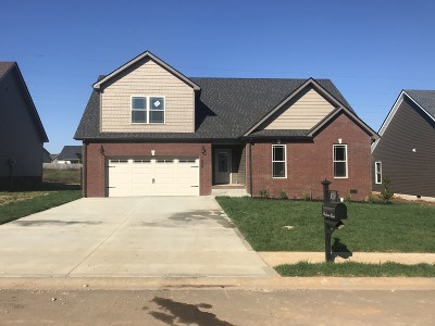 Clarksville Single Family Home For Sale: 499 Autumnwood Farms