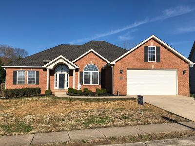 Spring Hill Single Family Home For Sale: 1233 Chapmans Retreat Dr