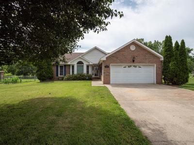 Clarksville Single Family Home Active Under Contract: 535 Brentwood Cir