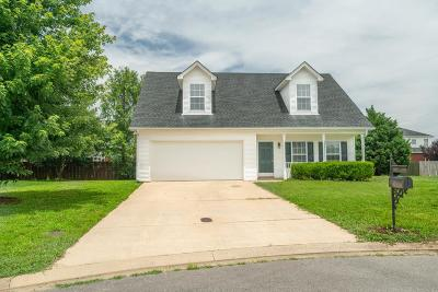 Murfreesboro Single Family Home Active Under Contract: 422 Tulane Ct