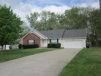 Clarksville Rental For Rent: 2736 N Whitfield Rd