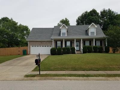 Clarksville Single Family Home For Sale: 1569 Cedar Springs Cir