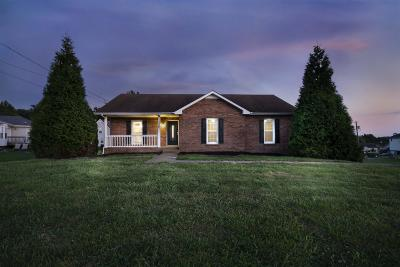 Clarksville Single Family Home Active Under Contract: 1286 Barbee Ln