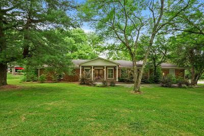 Brentwood Single Family Home For Sale: 1513 Puryear Pl