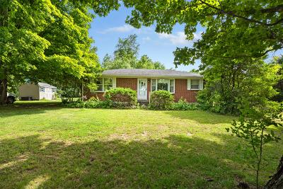 Pleasant View Single Family Home For Sale: 1389 Old Clarksville Pike