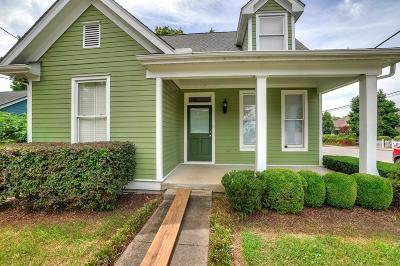 East Nashville Single Family Home Active Under Contract: 1414 Fatherland St