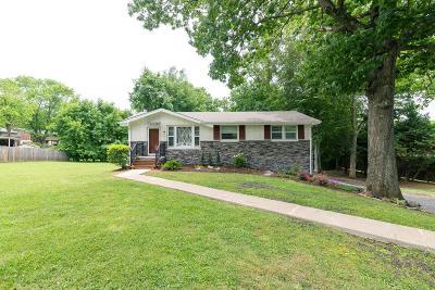 Nashville Single Family Home For Sale: 3349 Green Ridge Dr