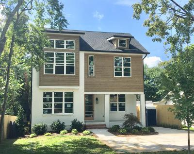 Nashville Single Family Home For Sale: 4121 Westlawn Dr
