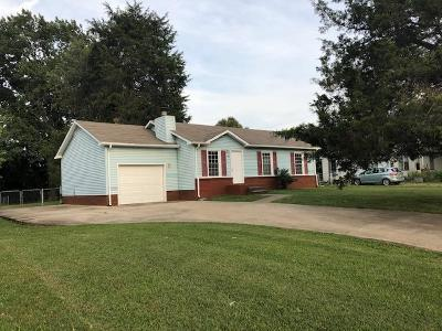 Clarksville Single Family Home Active Under Contract: 573 Donna Dr