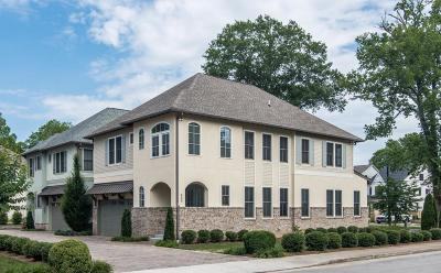 Nashville Single Family Home For Sale: 400 Woodmont Hall Place
