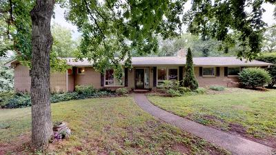Brentwood Single Family Home For Sale: 9024 Meadowlawn Dr