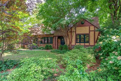 East Nashville Single Family Home For Sale: 1110 Riverwood Dr