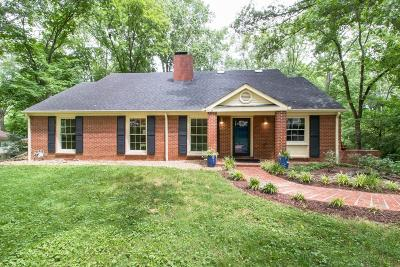 Nashville Single Family Home Active Under Contract: 6240 Vosswood Dr
