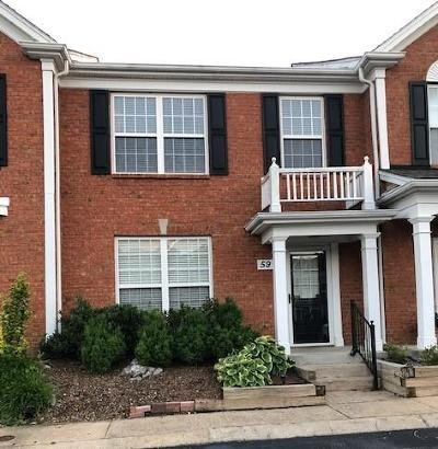 Brentwood Condo/Townhouse For Sale: 601 Old Hickory Blvd Unit 59