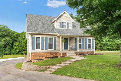 Clarksville Single Family Home Active Under Contract: 455 Bamburg Dr