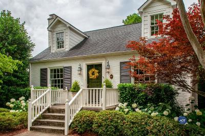 Nashville Single Family Home Active Under Contract: 124 Blackburn Ave