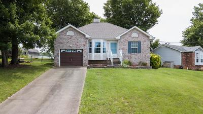 Clarksville Single Family Home Active Under Contract: 2030 Windmeade Dr