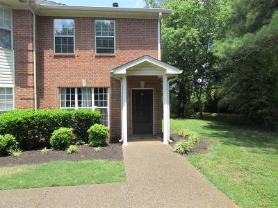 Nashville Condo/Townhouse For Sale: 515 Lakebrink Ct