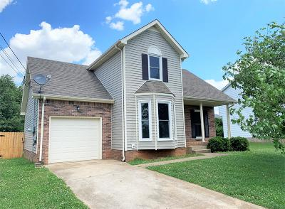 Clarksville Single Family Home Active Under Contract: 1217 Parkview Dr
