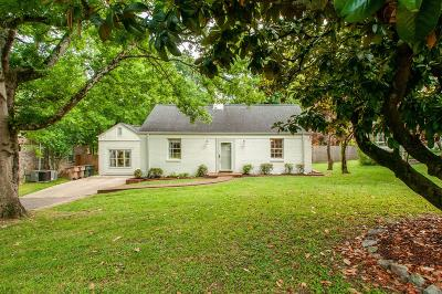East Nashville Single Family Home Active Under Contract: 1306 Plymouth Ave