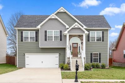 Clarksville TN Single Family Home For Sale: $224,900