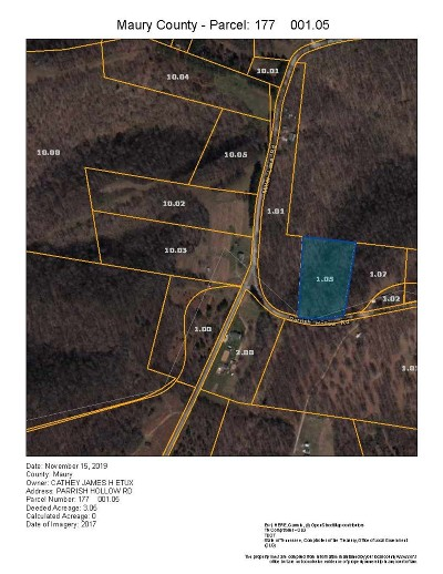 Residential Lots & Land For Sale: Parrish Hollow Road