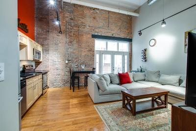Nashville Condo/Townhouse For Sale: 231 5th Ave N Apt 304 #304