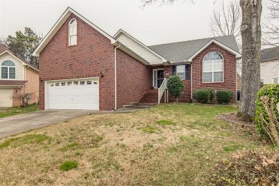 Mount Juliet Single Family Home For Sale: 490 Creek Pt