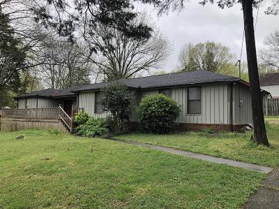 Smyrna Single Family Home For Sale: 410 Robertson Dr