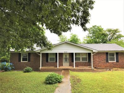 Franklin County Single Family Home Active Under Contract: 313 McKinney St